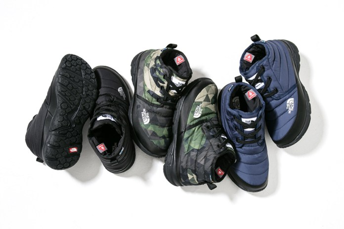 The North Face Presents a New Line of Nuptse Booties for Winter