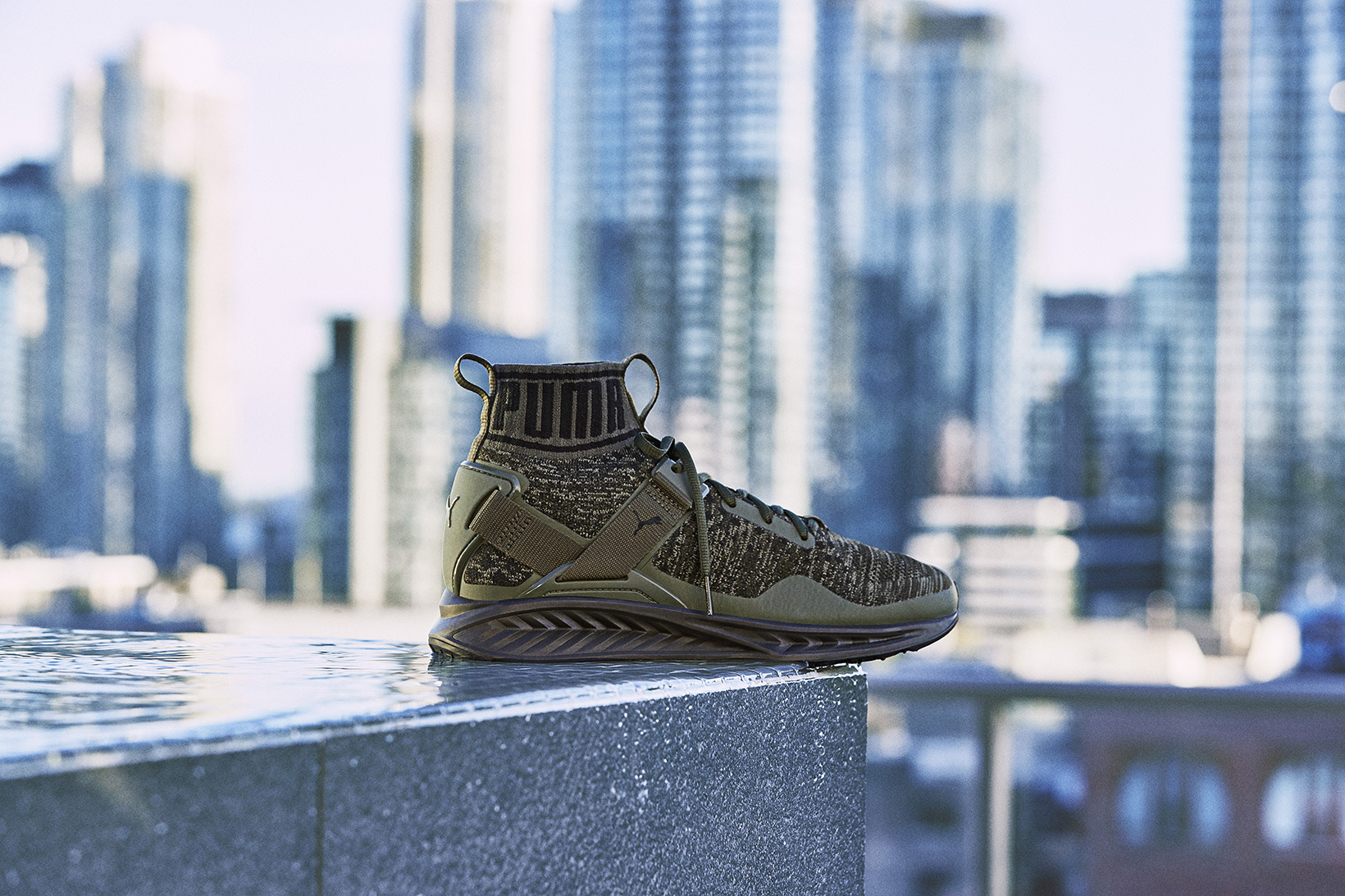 Puma Ignite Evoknit Green