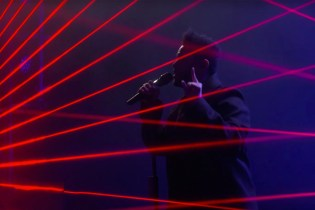 "Watch The Weeknd Perform ""Starboy"" on 'Ellen'"