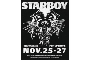 The Weeknd Announces Second Round of 'Starboy' Pop-Up Shops