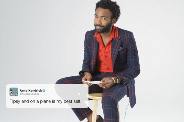 Donald Glover, Cuba Gooding Jr. & More of 2016's Best Actors Read This Year's Funniest Celebrity Tweets