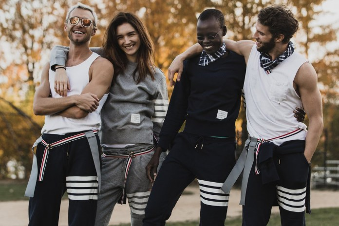 Thom Browne Hosts a Thanksgiving Football Game in NYC