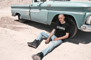 "THRILLS ""Dust Cloud"" Lookbook Takes to the Road Less Traveled"