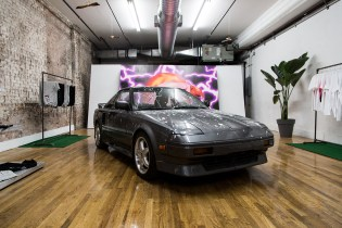 """Inside the Travis Scott """"Hood Toyota"""" Pop-up Shop at 127 Grand Street in NYC"""