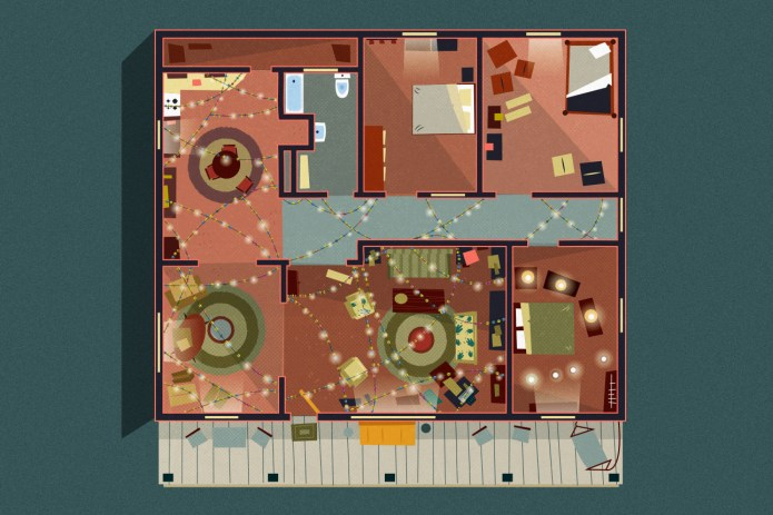 A Look at Home Floor Plans From Cult TV Shows
