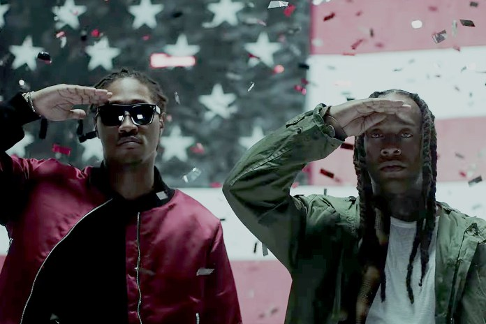 "Ty Dolla Sign & Future Get Patriotic in ""Campaign"" Video"