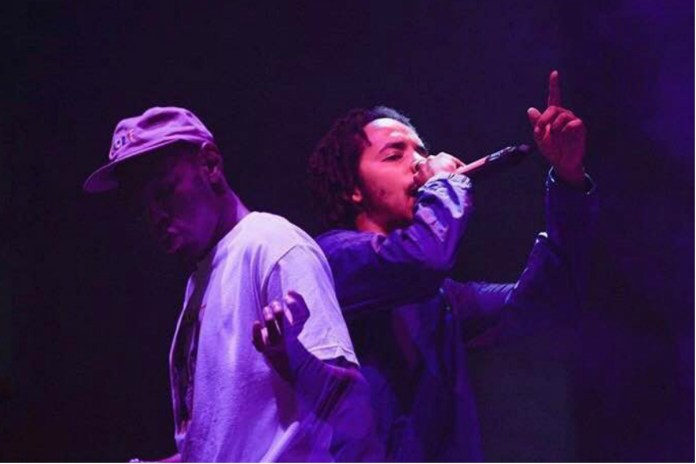 Tyler, The Creator and Earl Sweatshirt Reunite as 'Earlwolf' at Camp Flog Gnaw 2016