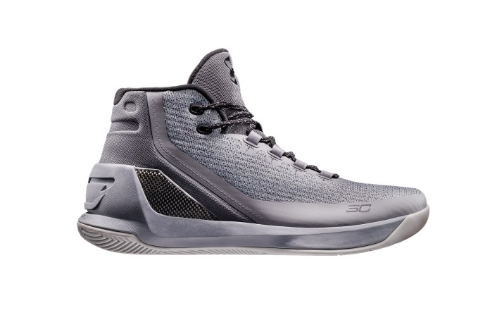 "Under Armour's Curry 3 Silhouette to Don Stealthy ""Grey Matter"" Colorway"
