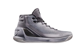 """Under Armour's Curry 3 Silhouette to Don Stealthy """"Grey Matter"""" Colorway"""