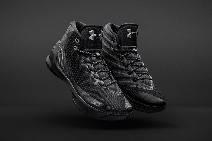"""Under Armour Curry 3 """"Trifecta Black"""" Is Available for Pick Up Now"""