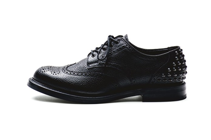 uniform experiment releases Heel-Studded Wingtips for 2016 Fall/Winter