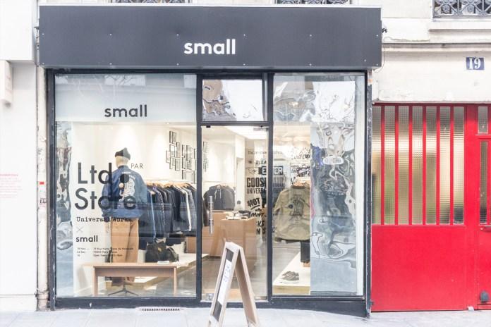 Universal Works Ltd. x Small Pop-up Shop Lands in Paris
