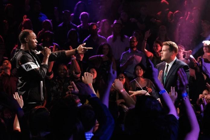 Usain Bolt Destroys James Corden in Epic Rap Battle