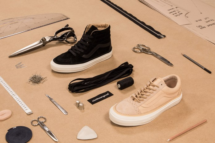 An Exclusive First Look at the New clothsurgeon x Vans Collaboration