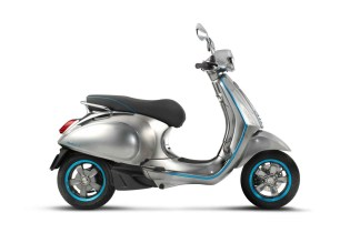 Vespa Finally Unveils Its Own Electric Scooter Concept