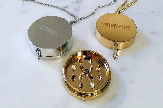 Vetements Unveils a Necklace That Doubles as a Grinder