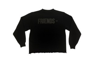 VLONE Releases Limited Edition Blackout 'Friends' Pieces
