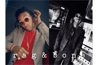 Watch Wiz Khalifa in Action for rag & bone