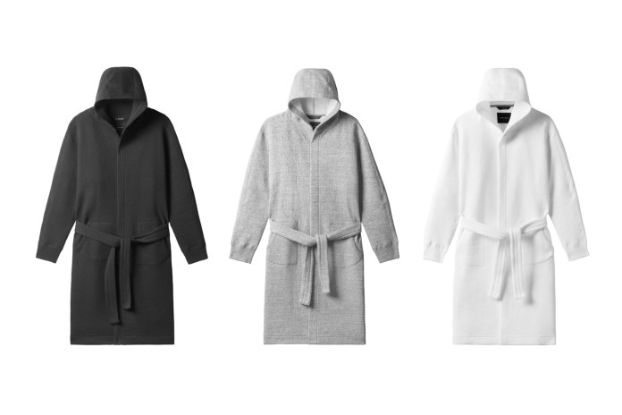 The wings+horns Cabin Fleece Robe Is Your Answer to Comfort and Style