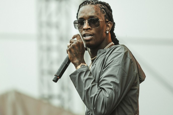 """Young Thug Wants You to """"Stop Believing in Genders"""""""