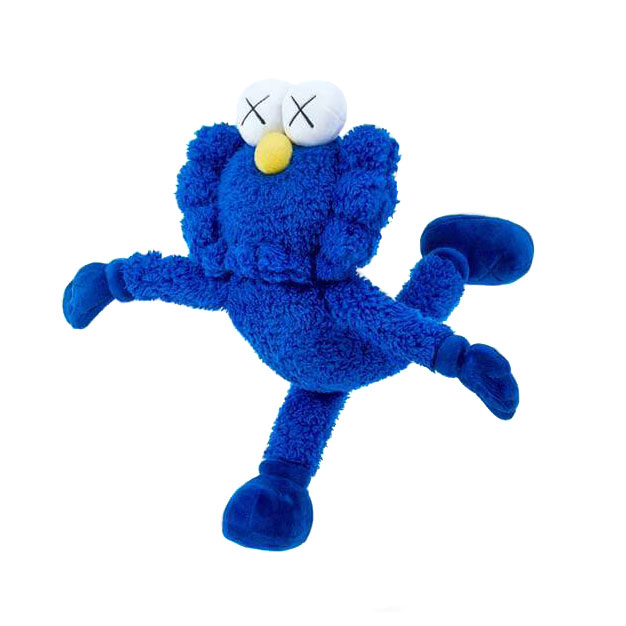 KAWS BFF in Blue