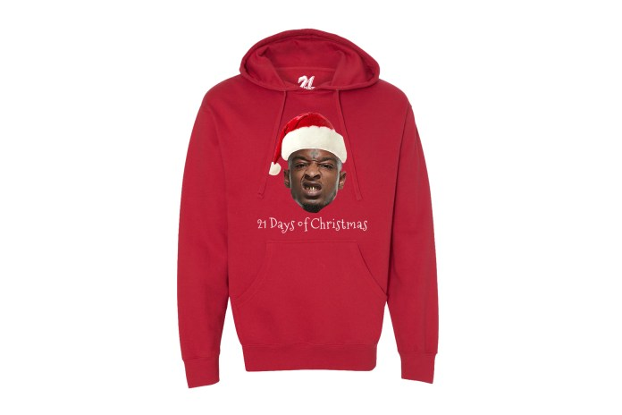 Celebrate Christmas With 21 Savage