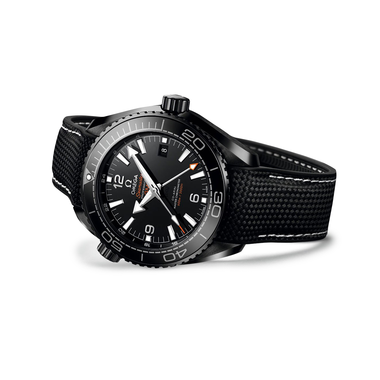 "OMEGA Seamaster Planet Ocean Master Chronometer ""Deep Black"" 600M"