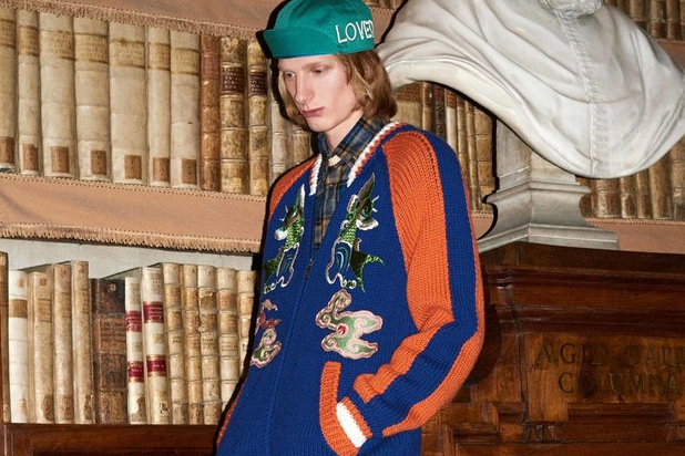 Gucci's 2017 Pre-Fall Collection Is Chock-Full of Embroidery and Embellishments