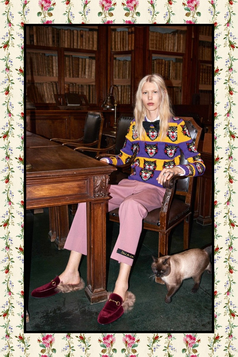 Gucci 2017 Pre Fall Lookbook Alessandro Michele