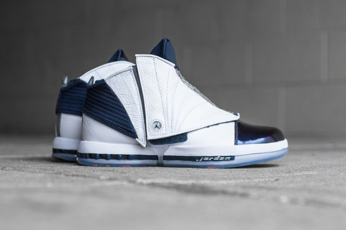 "A Closer Look at the Air Jordan 16 Retro ""Midnight Navy"""