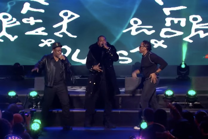 Watch A Tribe Called Quest & Busta Rhymes Perform on 'Jimmy Kimmel Live!'