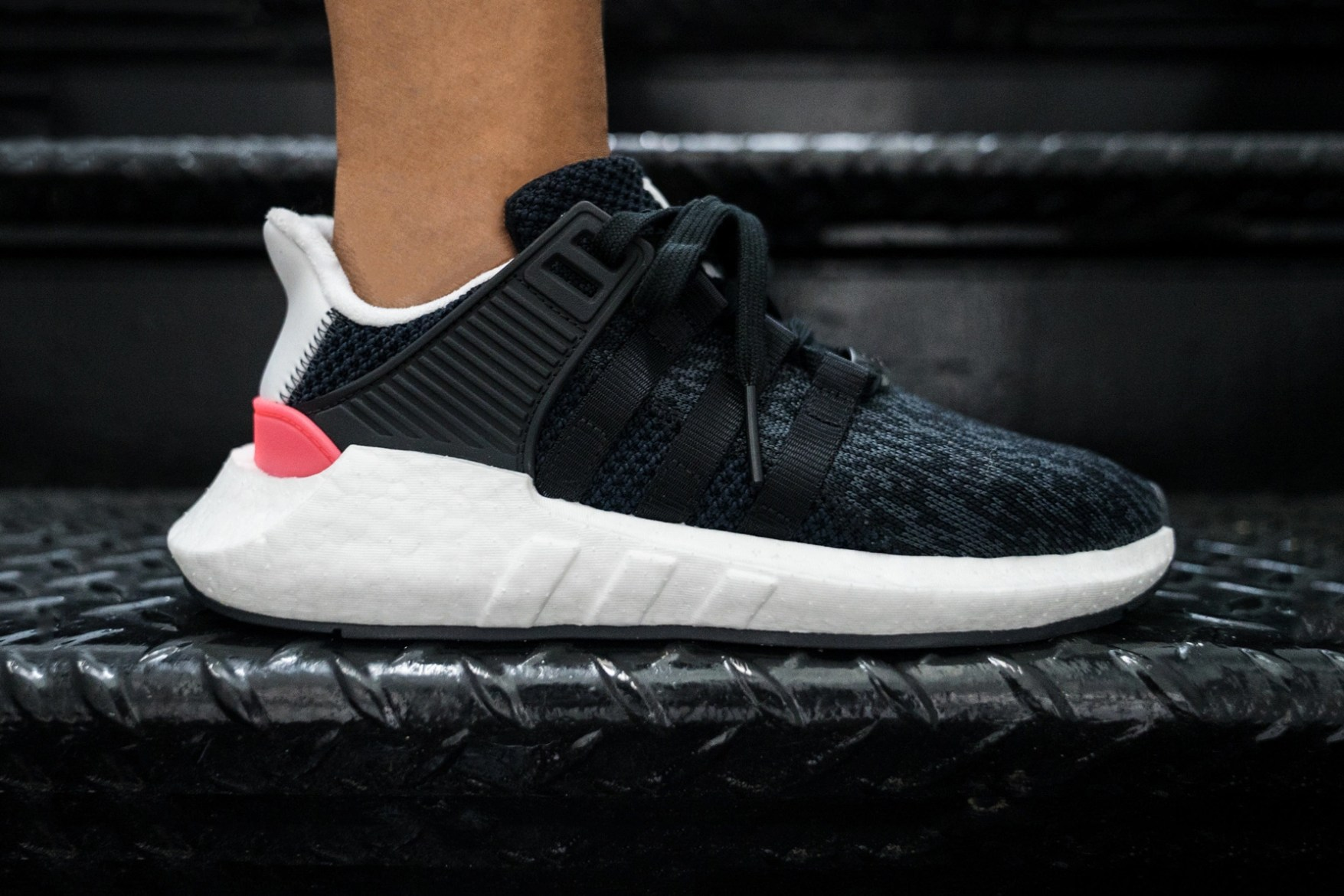 adidas EQT Support 93/17 Boost Launching In Core Black Very Soon