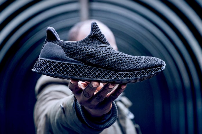 adidas Set to Officially Release the Triple Black 3D-Printed Runner