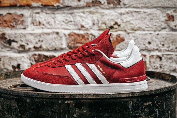 adidas Unveils the Samba ADV in Burgundy