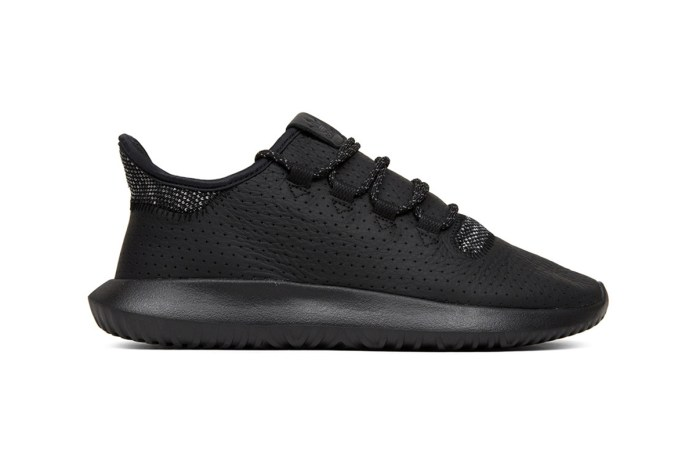 The adidas Tubular Shadow Gets the All Black Treatment