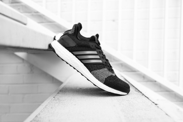 The adidas UltraBOOST ST Is Back in Black