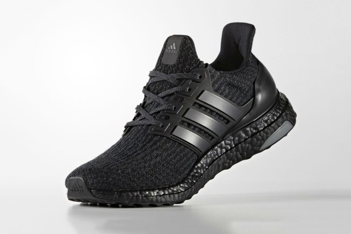 "adidas Unveils the UltraBOOST 3.0 In ""Triple Black"""