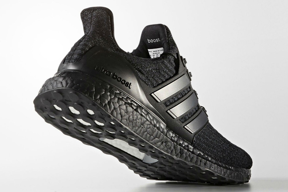 adidas unveils the ultraboost 3 0 in triple black. Black Bedroom Furniture Sets. Home Design Ideas
