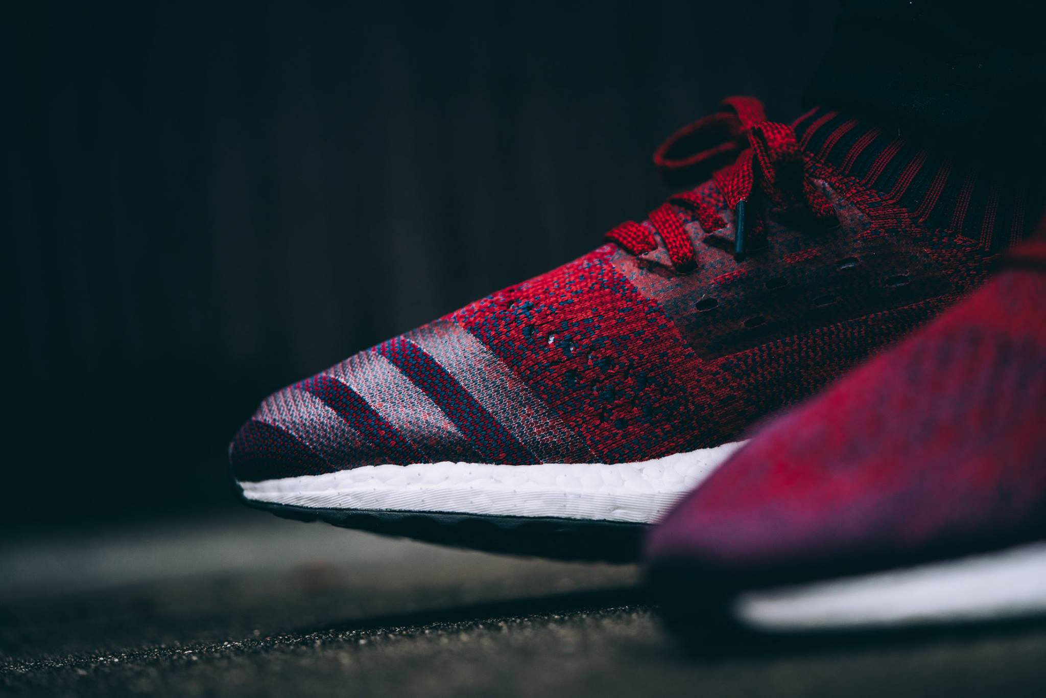 """adidas UltraBOOST Uncaged """"Mystery Red"""" A Closer Look Three Stripes Germany"""