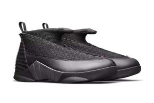 "The Air Jordan 15 Returns in Its OG ""Stealth"" Colorway"