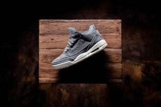 """A Closer Look at the Air Jordan 3 """"Wool"""""""