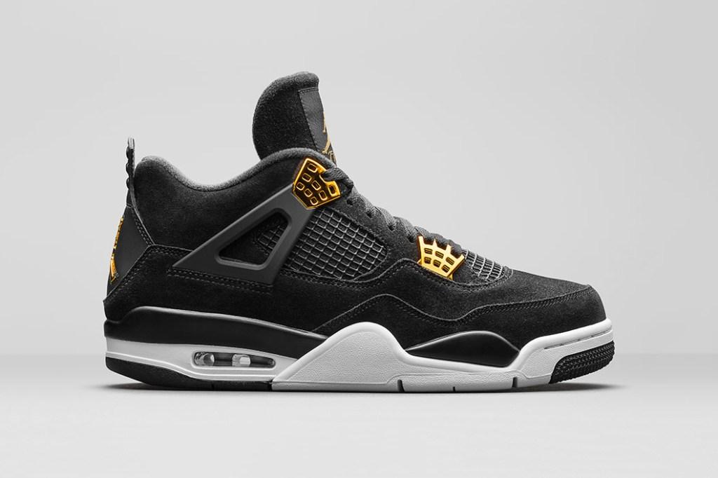 4f2cd36af18 air jordan 4 royalty black gold 1 - The Air Jordan 4  Royalty  Will