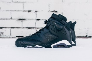 "The Air Jordan 6 Gets a ""Black Cat"" Makeover"