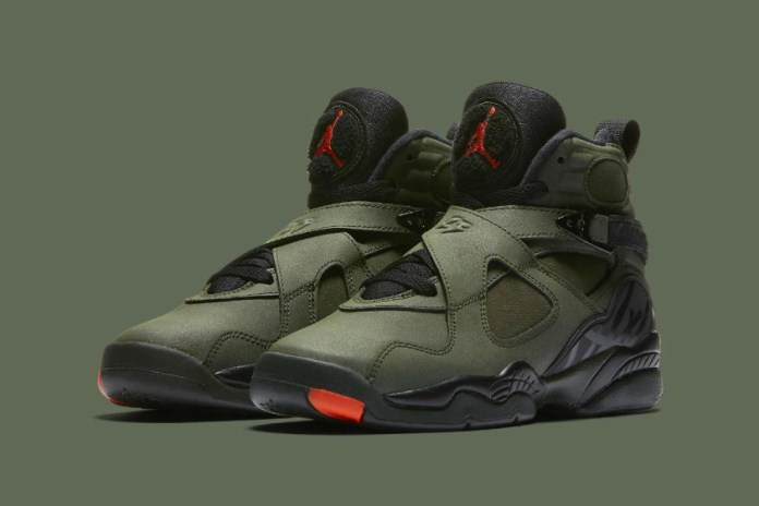 """Official Images of the Air Jordan 8 """"UNDFTD"""" Have Surfaced"""