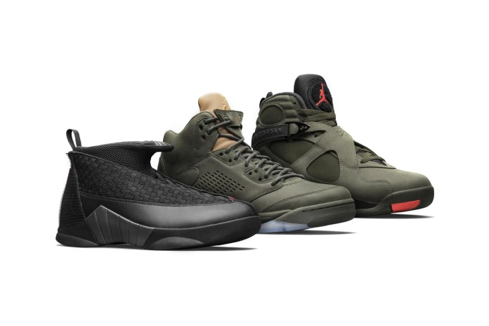 "Jordan Brand Officially Unveils The ""Take Flight"" Pack in Military-Inspired Colorways"
