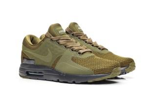 Nike Drops the Air Max Zero Premium in Dark Loden