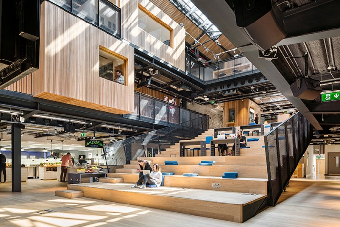 Airbnb's Dublin International Headquarters Is a Giant Space With 29 Neighborhoods