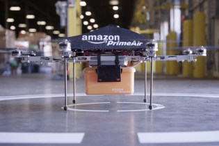 New Video Shows Amazon Completing First Ever Drone Delivery
