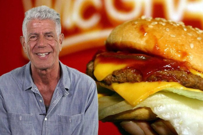 Anthony Bourdain Reveals His Three Rules for Making the Perfect Burger