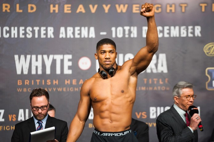 Tune in to Our Live Interview With Heavyweight Boxing Sensation Anthony Joshua